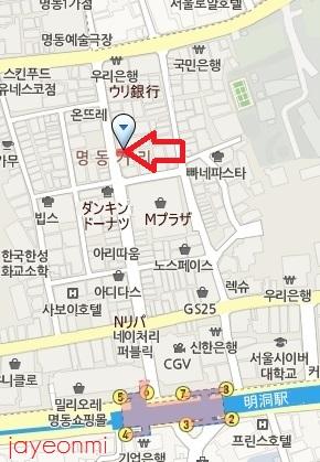 Mamonde_マモンド_明洞_201307_map