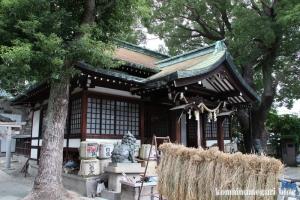 八坂神社・下の宮(大阪市大正区三軒家東)8