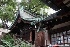 八坂神社・下の宮(大阪市大正区三軒家東)9