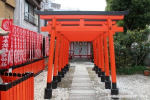 赤手拭稲荷神社(大阪市浪速区稲荷)8