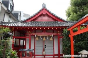 赤手拭稲荷神社(大阪市浪速区稲荷)11