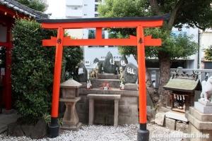 赤手拭稲荷神社(大阪市浪速区稲荷)12