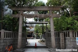 難波八阪神社(大阪市浪速区元町)1