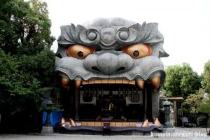 難波八阪神社(大阪市浪速区元町)4