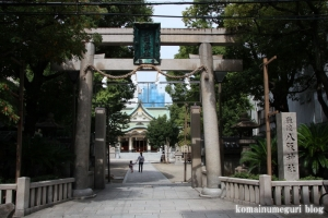 難波八阪神社(大阪市浪速区元町)5