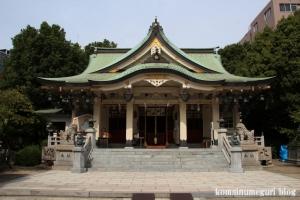難波八阪神社(大阪市浪速区元町)15