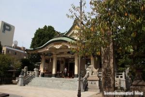 難波八阪神社(大阪市浪速区元町)16