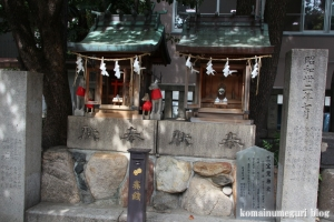 難波八阪神社(大阪市浪速区元町)20
