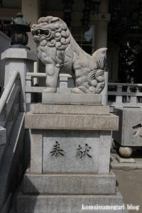 難波八阪神社(大阪市浪速区元町)38