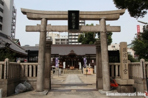 敷津松之宮(大阪市浪速区敷津西)3