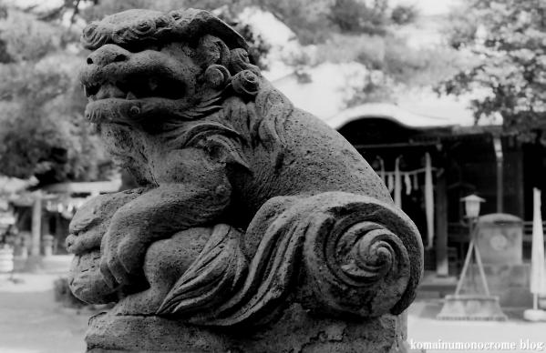 駒留八幡神社(世田谷区上馬)1