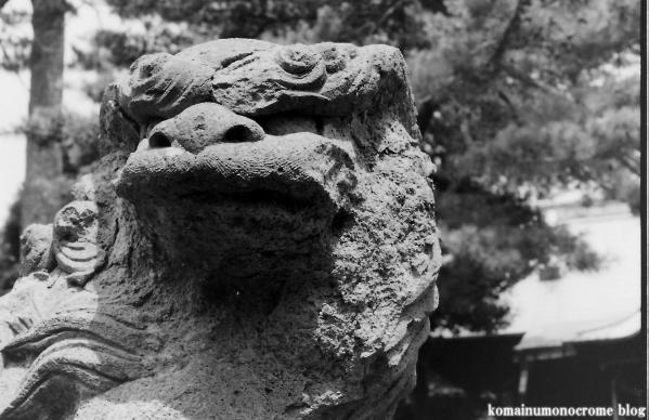駒留八幡神社(世田谷区上馬)4