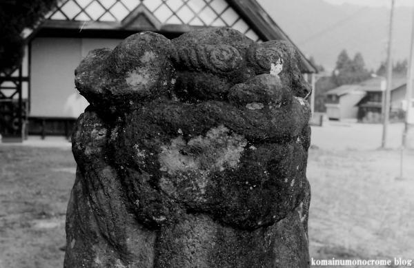鳩ヶ谷八幡神社(岐阜県大野郡白川村鳩谷)2
