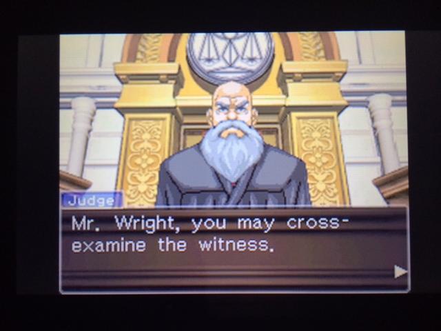 逆転裁判 北米版 オールドバグ証言2-7
