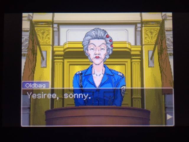 逆転裁判 北米版 オールドバグ証言2-12