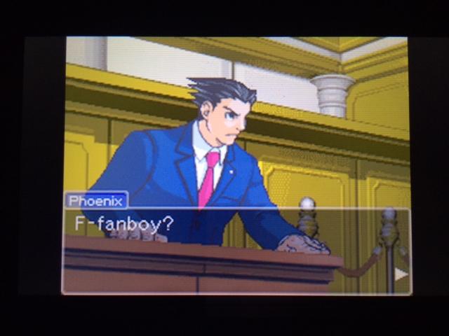 逆転裁判 北米版 オールドバグ証言3-11