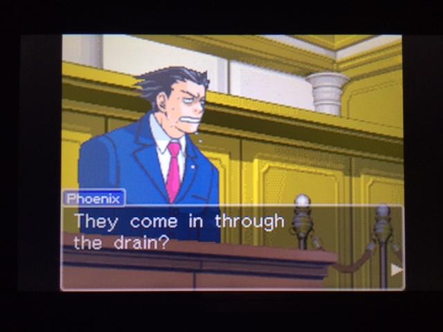 逆転裁判 北米版 オールドバグ証言3-17