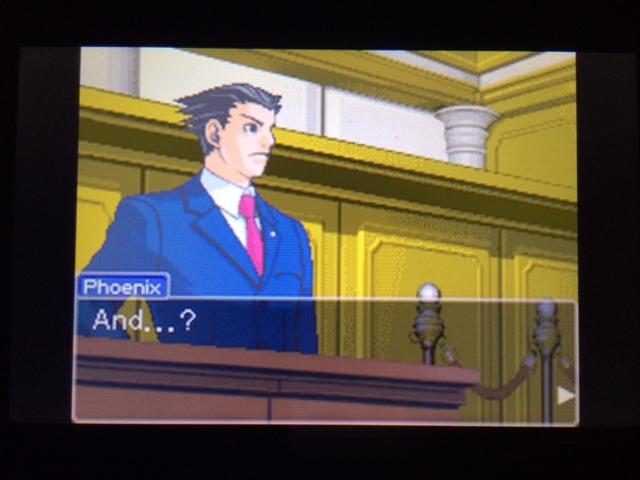 逆転裁判 北米版 オールドバグ証言3-19