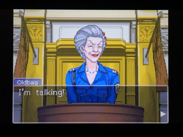 逆転裁判 北米版 オールドバグ、足掻きの証言3