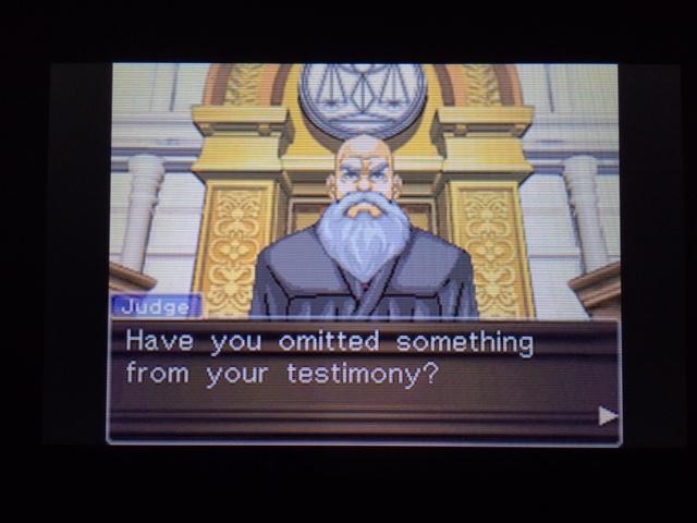 逆転裁判 北米版 オールドバグ、足掻きの証言9