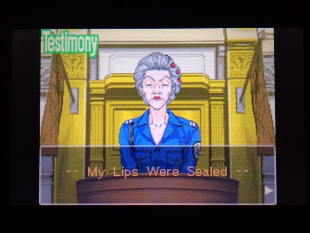 逆転裁判 北米版 オールドバグ、足掻きの証言15