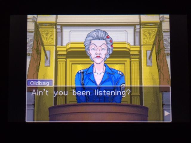 逆転裁判 北米版 オールドバグ、足掻きの証言21