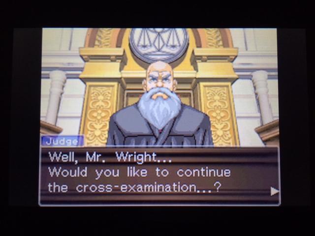 逆転裁判 北米版 オールドバグ、足掻きの証言41