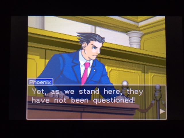 逆転裁判 北米版 オールドバグ、足掻きの証言44