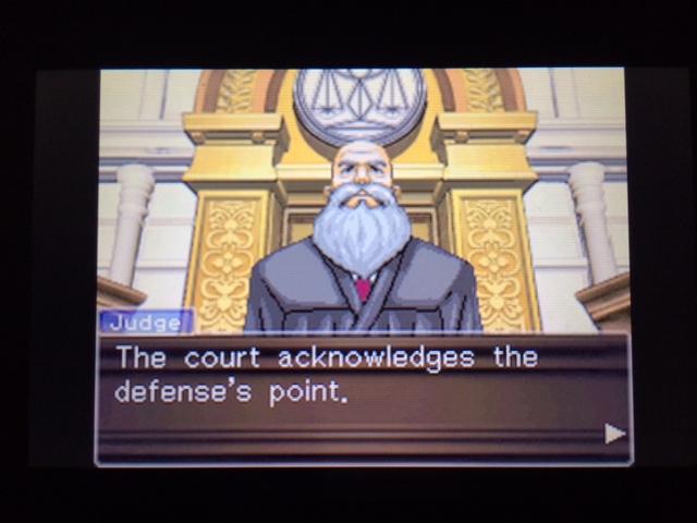 逆転裁判 北米版 オールドバグ、足掻きの証言47