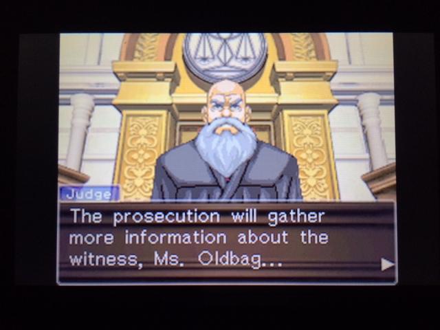 逆転裁判 北米版 オールドバグ、足掻きの証言48