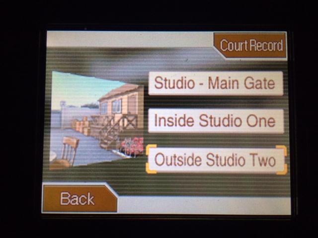 逆転裁判 北米版 スタジオへ移動11