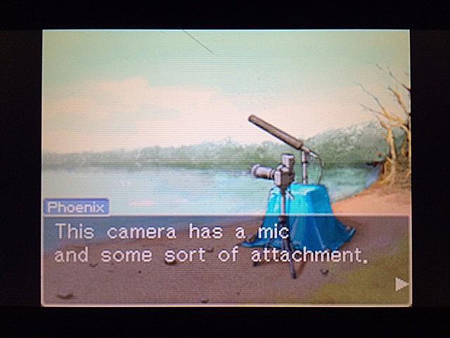 逆転裁判 北米版 カメラ装置と謎の南部訛り2