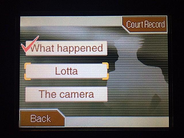 逆転裁判 北米版 湖のそばでロッタは何をしてるの?12