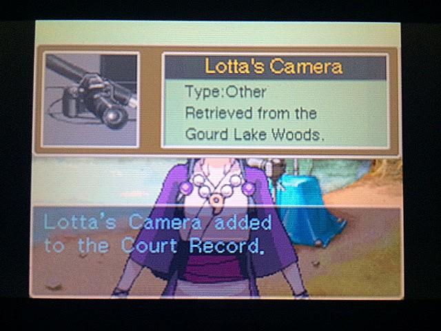 逆転裁判 北米版 湖のそばでロッタは何をしてるの?36