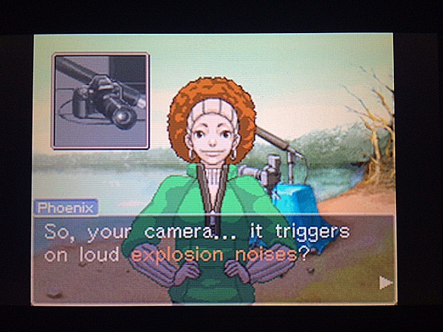 逆転裁判 北米版 ロッタのカメラ5