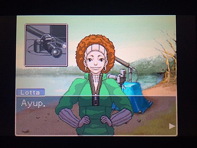 逆転裁判 北米版 ロッタのカメラ6