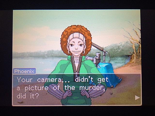逆転裁判 北米版 ロッタのカメラ11