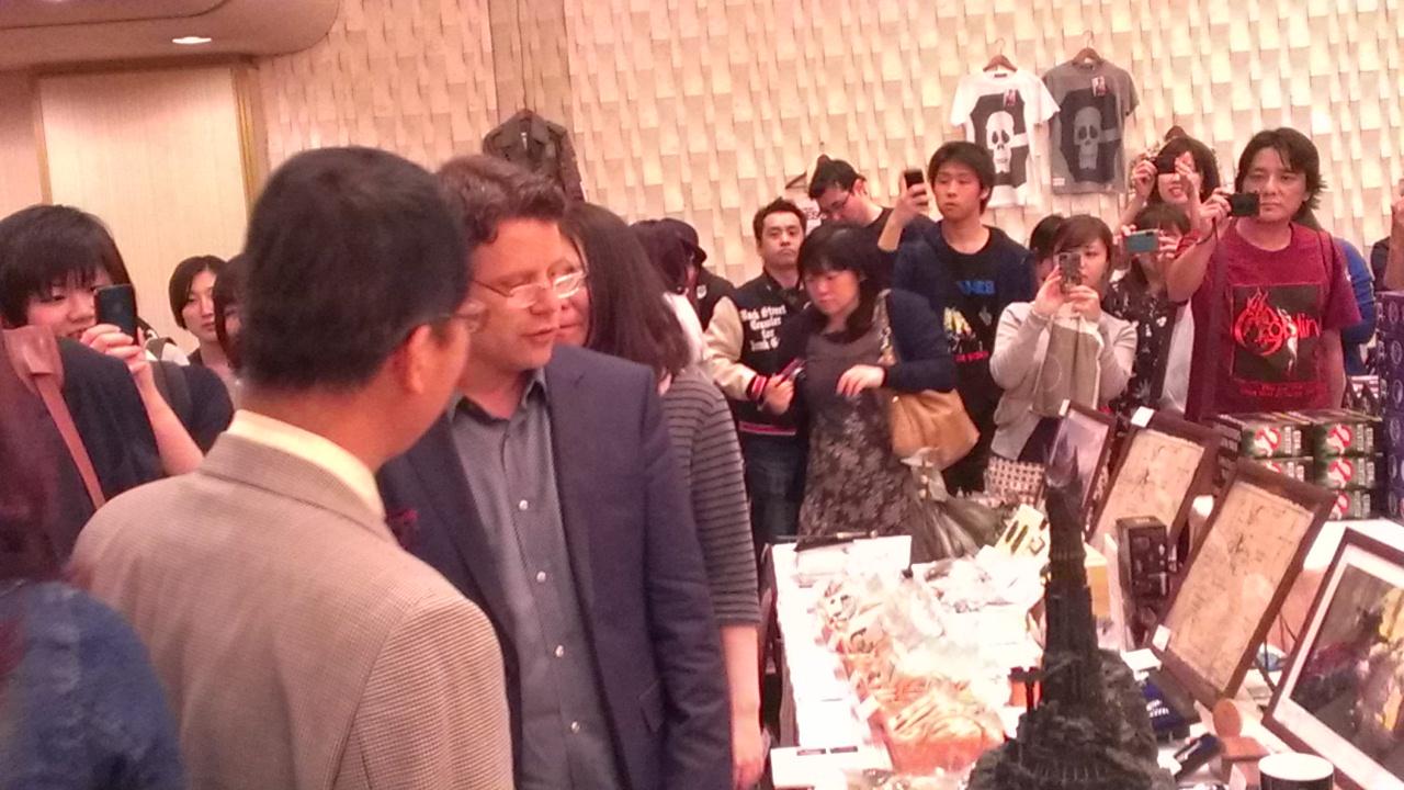 ハリウッドコレクターズコンベンション No.2(ショーン・アスティンサイン会) 東京1日目レポート
