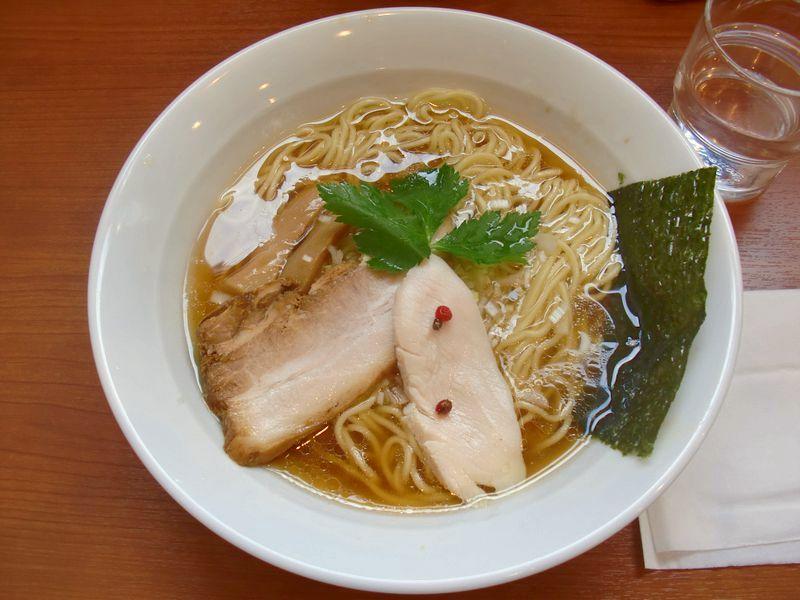 七麺鳥@鶯谷・20141012・醤油