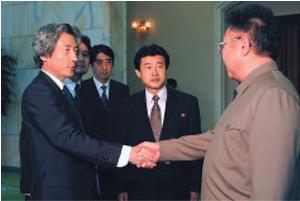 北朝鮮に乗り込んだ小泉首相