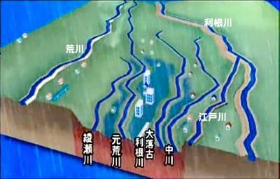 埼玉県東部の地形-1
