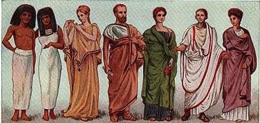 古代の衣装