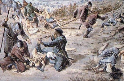 元寇対馬の虐殺