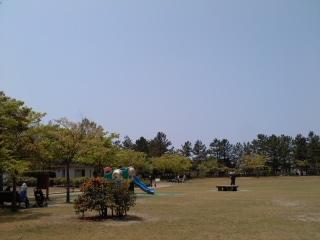 青空の鳥屋野公園