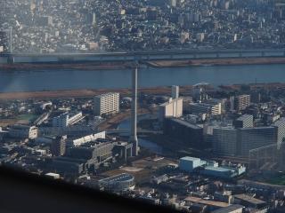 墨田清掃工場(東京スカイツリーより)