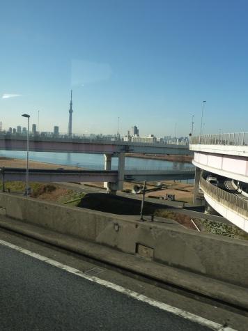 東京スカイツリー(首都高速 堀切JCTより)