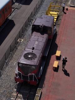 真岡鐵道 DE10 1014 ディーゼル機関車