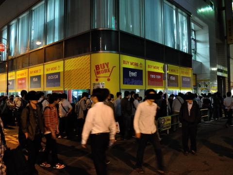 Haswell深夜販売 - buy more前 (2013年6月1日)