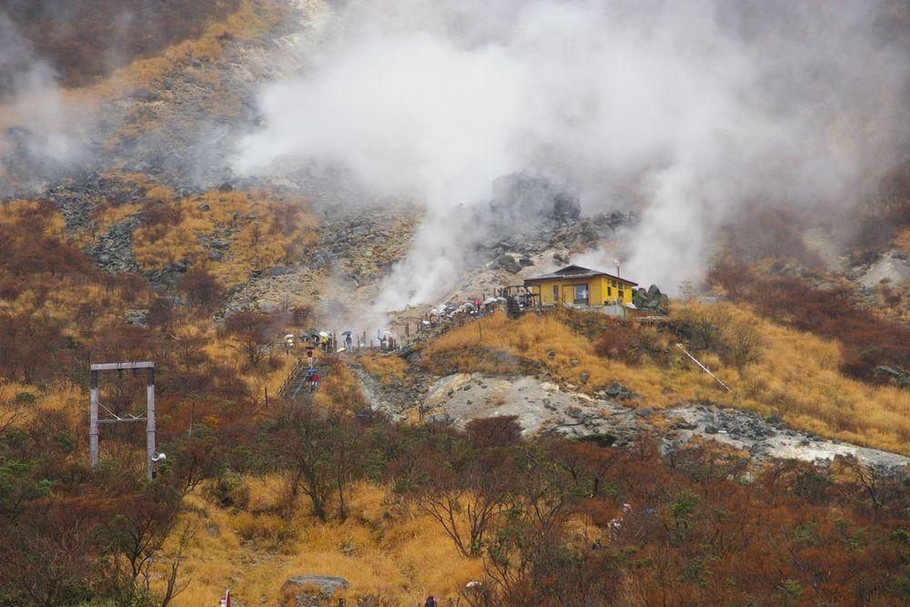 箱根山の監視を強化…大涌谷の新たな噴気地帯の状況や水蒸気噴火の備え