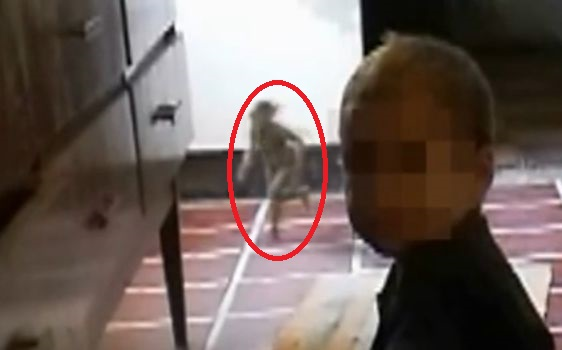 【妖精】 小人が映り込む…子供を撮影した映像に突然現れ、走り抜ける謎の生命体